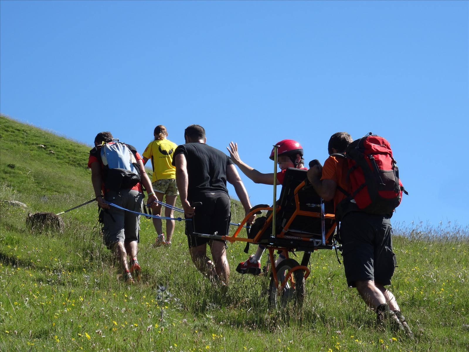 grup d'excursionistes